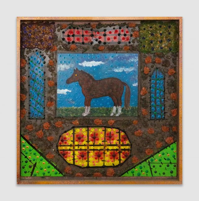 Roy De Forest The Horse, 2000