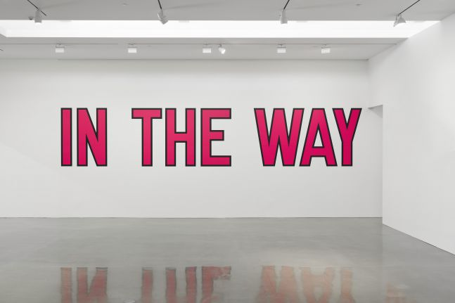 Lawrence Weiner - In the Way