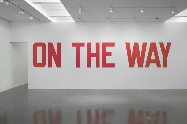 Lawrence Weiner - On the Way