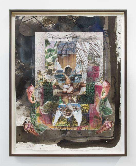 Kandis Williams, Toxic Exotica Sketch 1, 2020