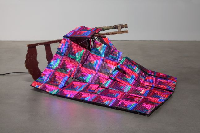 Luke Murphy, Quilt and Discarded Chair, 2020