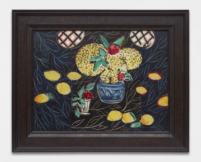 Henri Matisse, Nature morte aux mimosas sur fond noir