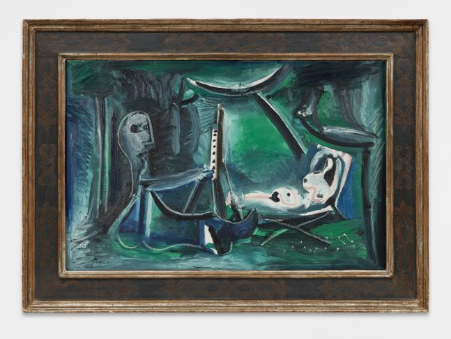 Pablo Picasso, Le peintre et son modele