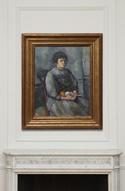 Paul Cézanne Jeune fille à la poupée, 1894-96
