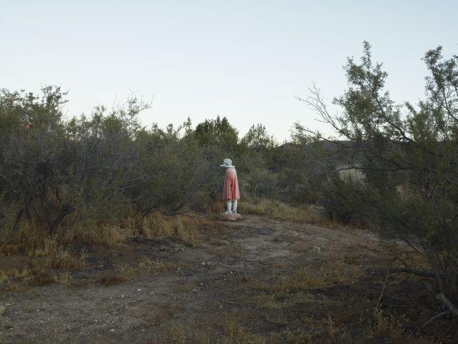 Plaster Man, near Boulevard, California, 2009