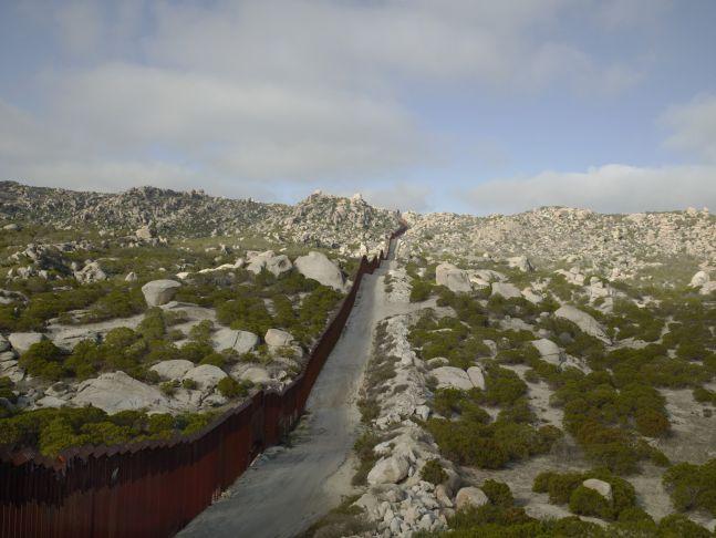 Wall, Tierra Del Sol, California, 2015