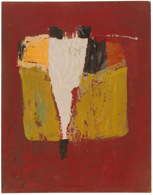 Jay DeFeo  Untitled, 1953