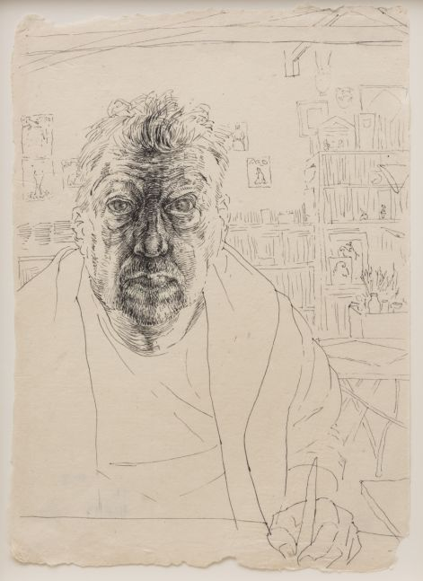Self-portrait, 2013