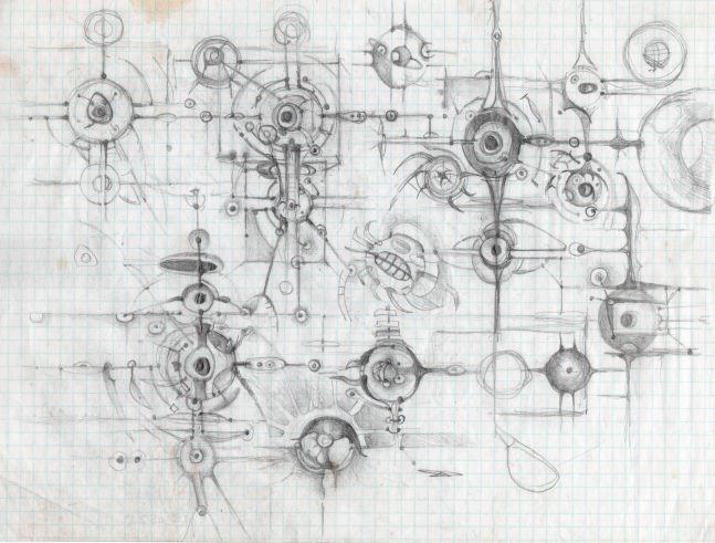 Lee Bontecou: A Constellation of Drawings 1982-1987