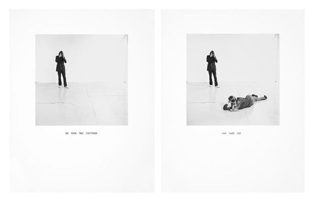 He Took Two Pictures / One Came Out, 1972/printed 2011