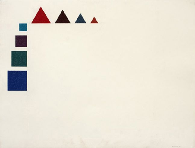 Triangular and Square (Reverse), 1975
