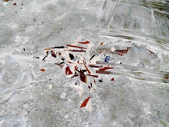 IPS #3516 Broken Glass Self Portrait), 2011