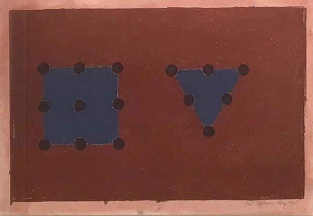 Triangle and Square (Three Points), 1975