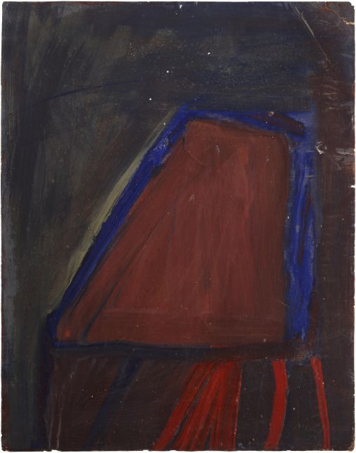 Jay DeFeo  Untitled (Berkeley), 1953
