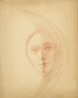 Untitled (Self Portrait?), n.d.