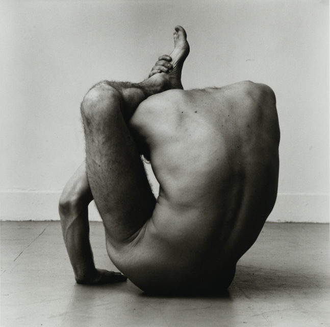 Gary Schneider in Contortion, 1979/2020