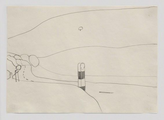 Landscape Drawing, 1967
