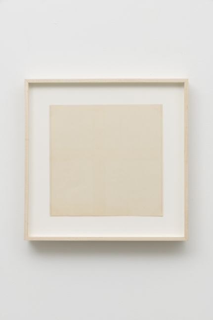 Untitled (two light vertical pencil lines), 1967