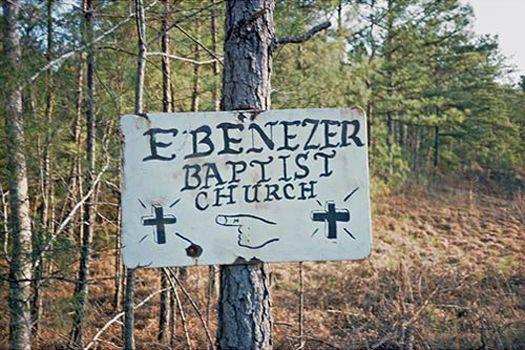 Church Sign, Tuscaloosa County, Alabama, 1976