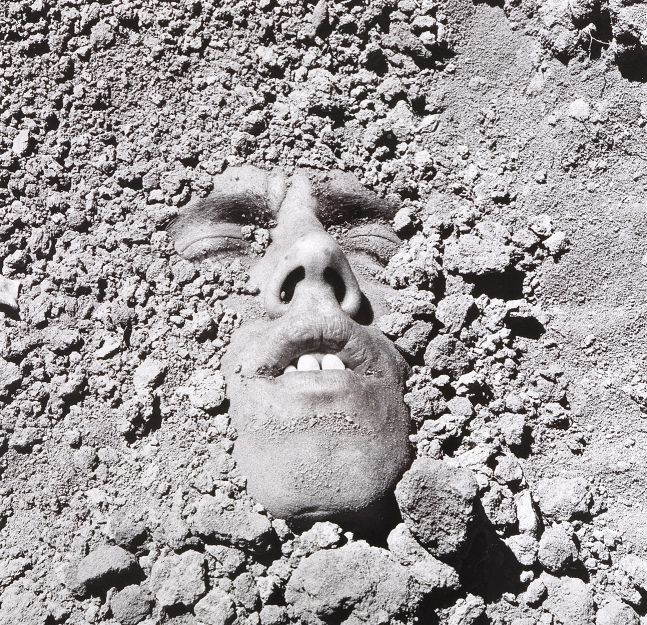 David Wojnarowicz  Untitled (Face in Dirt), 1991/2018