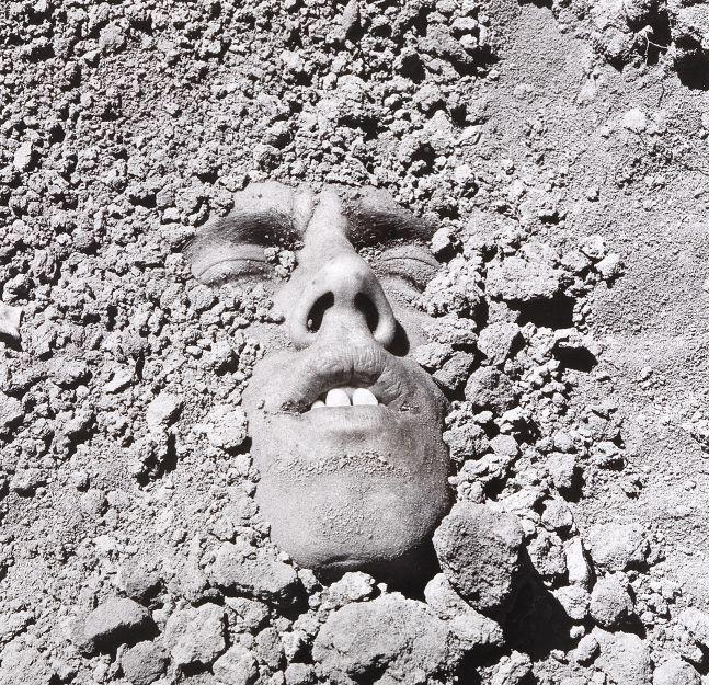 David Wojnarowicz  Untitled (Face in Dirt), 1991/2018