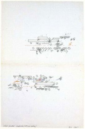 Placed Parallel-Duplicates (without looking), 1967