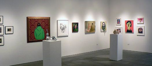 Some Kind of Portrait, curated by Simon Watson and Craig Hensala, installation view