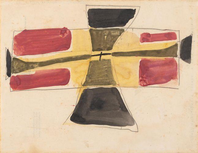 Jay DeFeo  Untitled (Unflyable Kite series, New York), 1953