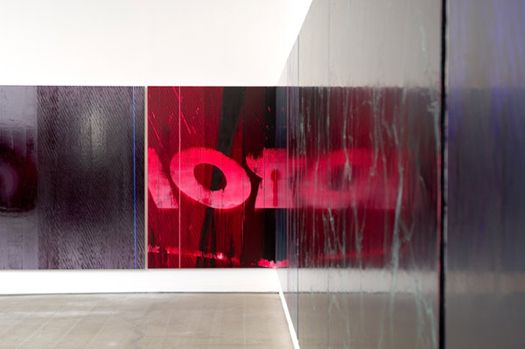 Marc Handleman Tomorrow's Forecast: Strikingly Clear, installation view