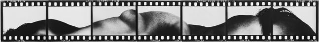 Kodak Safety Film/Figure Horizon, 1971  7 Unique pieces of Lithographic Film  15 x 119 inches  30 1/2 x 134 3/8 inches