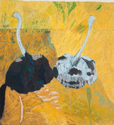 Untitled (Ostrich Couple), 2010