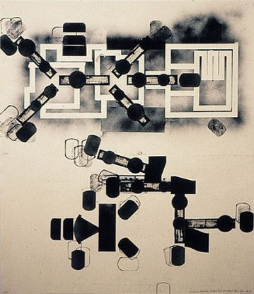 Sculptured Activities (Entrance-Exit with Abscessed Plan), 1988-89