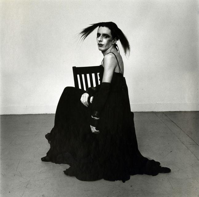 John Heys in Lana Turner's Gown (III), 1979