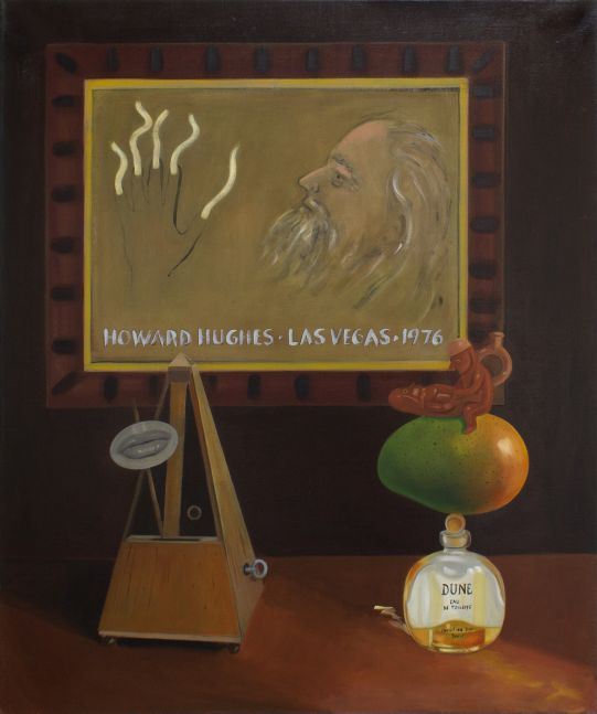 Raul Guerrero, Still Life with Portrait of Howard Hughes, 2012