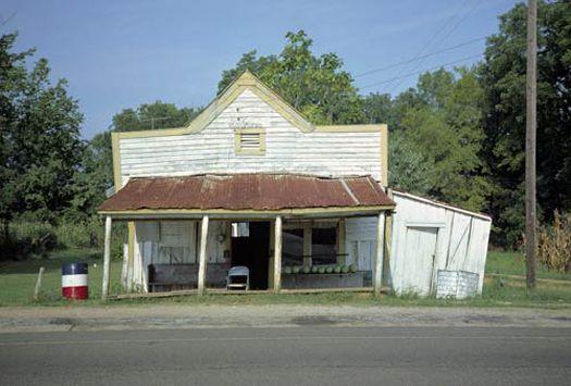 T.B. Hick's Store, Newbern, Alabama, 1976