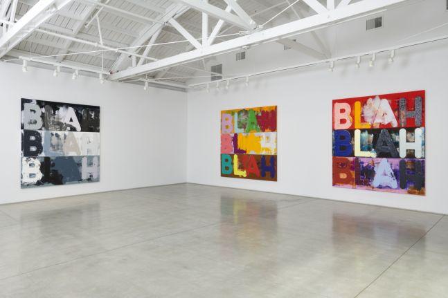 Mel Bochner, Installation view, 2019