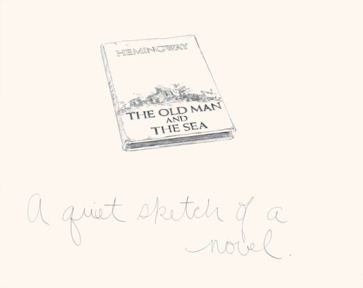 A Quiet Sketch of a Novel, 1975