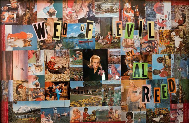 Cover Art for Web of Evil, 1984