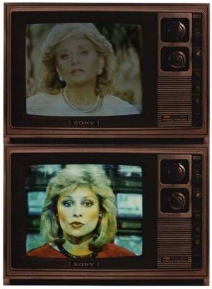 T.V. Network Newswomen Corresponding (Faith and Barbara), 1986