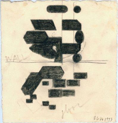 Untitled (wall floor), 1993