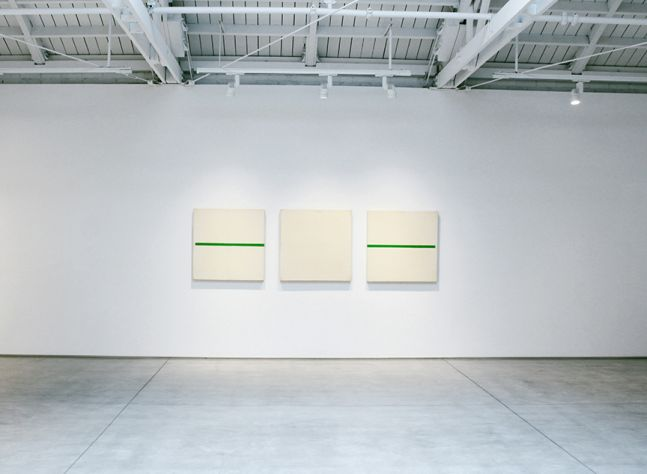 Robert Barry, Paintings and Works on Paper from the 1960s, installation view