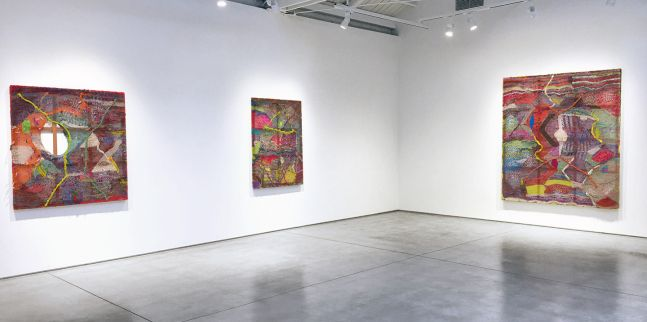 Channing Hansen Entanglements, installation view