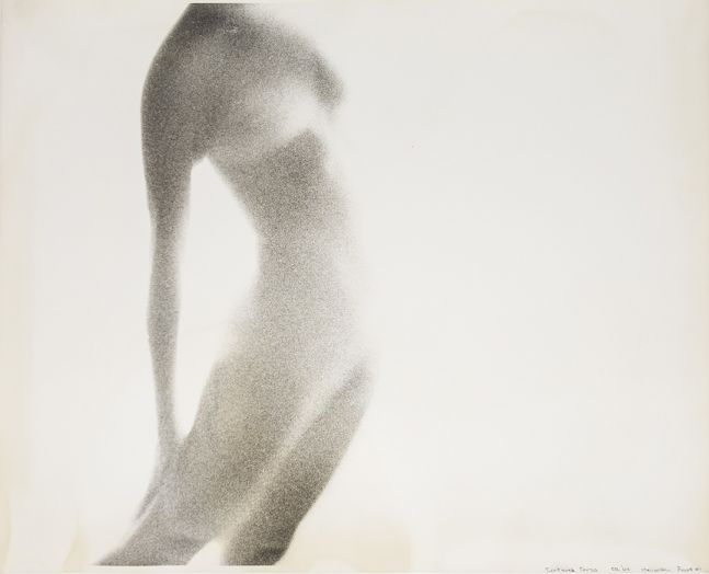Robert Heinecken  Textured Torso (Proof #1), 1964