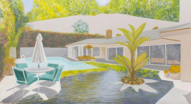 Backyard, River, Forest, 2020