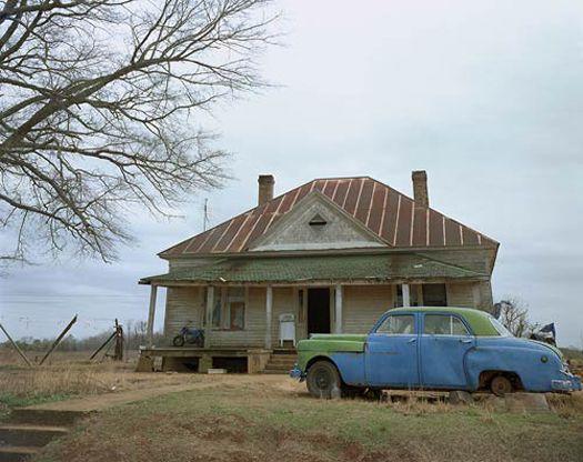 House and Car, near Akron, Alabama, 1978
