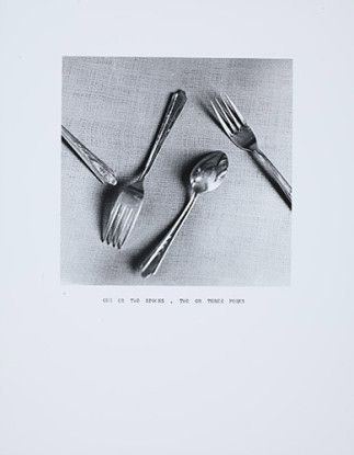 One of Two Spoons / Two or Three Forks, 1973
