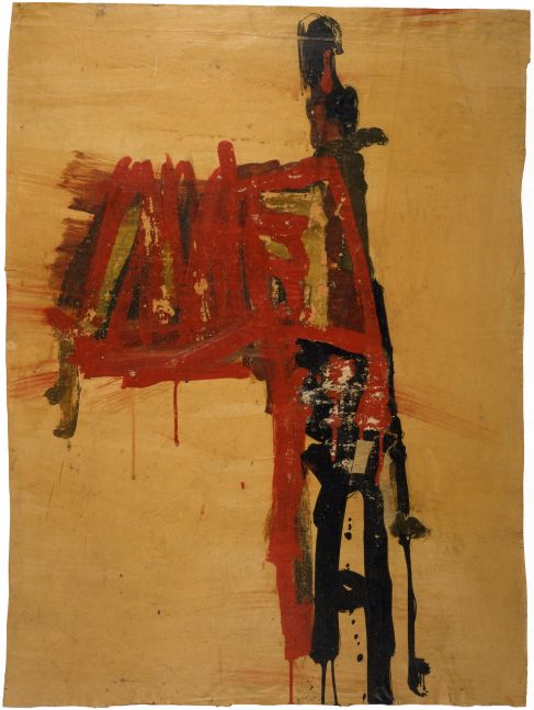 Jay DeFeo  Untitled (Florence), 1952