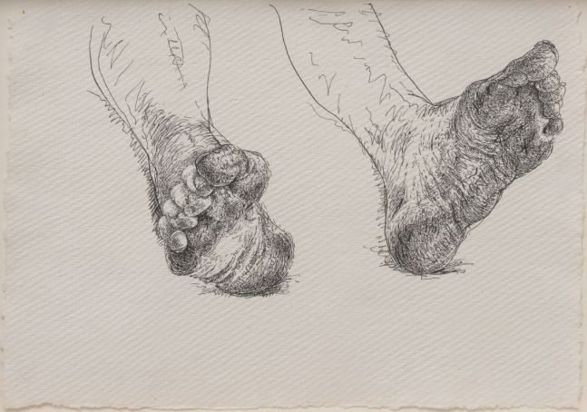 Bob's Feet (4), 2015