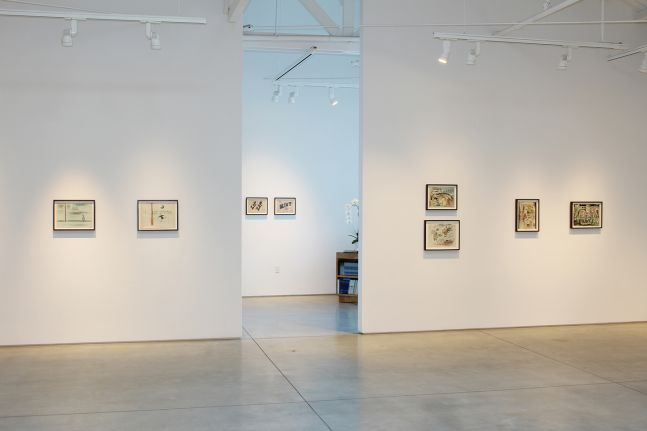 Jeff Keen, installation view