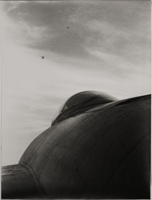 Organic Airplane, 1957  Silver Gelatin Print  19 1/2 x 14 3/8 Inches